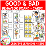 Behavior Matching Board + Flashcards