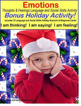 Autism HOLIDAY Social Skills & Language Activities (Expected vs. Unexpected)
