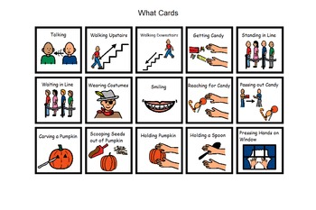 Autism:  Halloween Who, What, Where