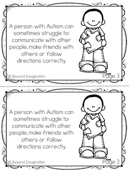 Autism Awareness Health Study 44 Pages for Differentiated Learning + Bonus Pages
