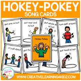 Hokey Pokey Song Cards