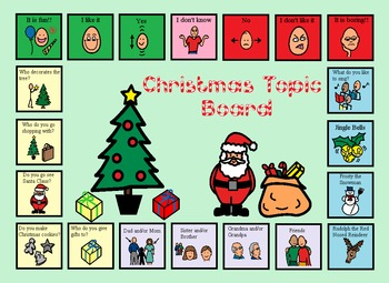 Autism:  Holiday Topic Boards