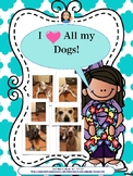 Autism: I love my dogs interactive book-FREEBIE
