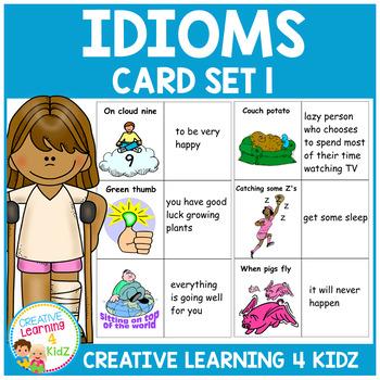 Idiom Card Set 1
