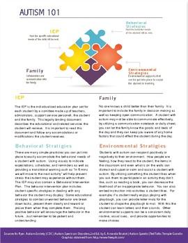 Autism Information Flyer