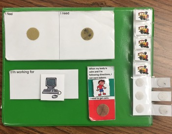 Autism: Inside Out Token Board (Never Lose Tokens)