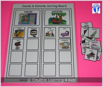 Inside & Outside Sorting Board