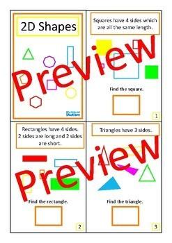 Shapes Area Perimeter Geometry Books BUNDLE Autism Special Education