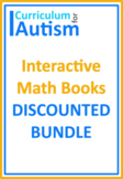 Shapes Area Perimeter Geometry Books BUNDLE Autism