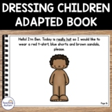 Autism Adapted Book, Dressing Children