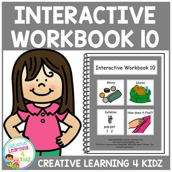 Interactive Workbook 10 ABA Autism