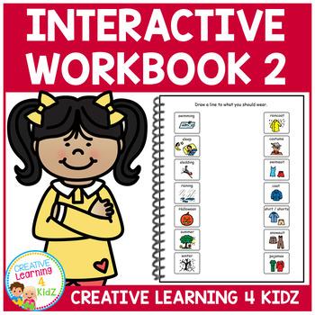 Interactive Workbook 2 ABA Autism