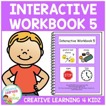 Interactive Workbook 5 ABA Autism