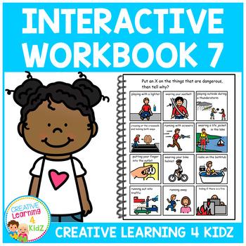 Interactive Workbook 7 ABA Autism