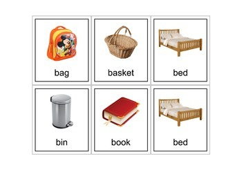 Autism Intervention - Everyday Objects Flash Cards - high resolution