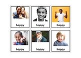 Autism Intervention - Feelings & Emotion Flash Cards - high resolution