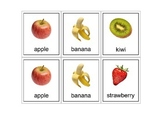 Autism Intervention - Food Flash Cards - high resolution