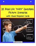 "Autism Language & Comprehension ""WHY"" Picture Scenarios {Special Education}"