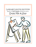 Autism Basic Vocabulary and Language Building with DRAW ME A STAR