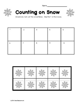 Autism Lesson Plan Printables for Autism Support Classrooms (Winter Theme)