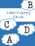 Autism Upper Case Letter Matching File Folder