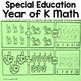 Autism Level 1 or Kindergarten Math Bundle: Centers and Year of Morning Work