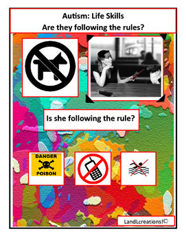 Autism: Life Skills Are they following the rules?