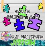 Autism Logo | Jigsaw Clip Art
