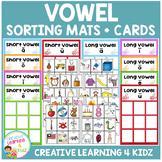 Vowels Long & Short Sorting Mats