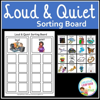 Loud & Quiet Sorting Board