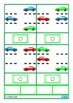 Autism, Read & Match Parking Lot Car Theme Special Educati