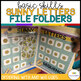 Autism Matching File Folders: Sunny Letters {Special Educa