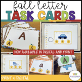 Autism Matching Task Cards: Fall Letters {Special Educatio