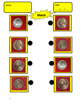Autism Math: Coins, Fractions and Shapes
