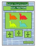 Autism: Math-Fractions