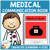 Medical Communication Book Visual Health PECS Autism Special Education