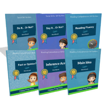 Autism Mega Bundle: Reading & Social Skills