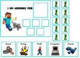 Autism:  Minecraft Token Board