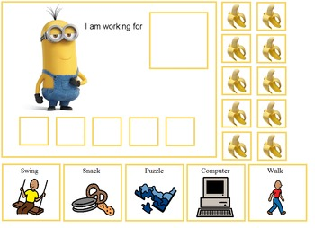 Autism:  Minions Token Boards