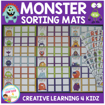 Monster Matching & Sorting Set