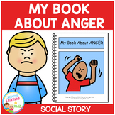 Social Story My Book About Anger Behavior Autism