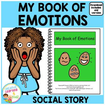 Social Story My Book of Emotions Feelings Autism