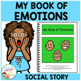 Social Story My Book of Emotions Feelings Autism