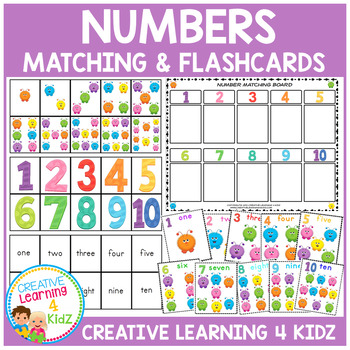 Numbers Board & Flashcards 1-10