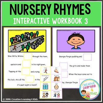 Nursery Rhymes Workbook 3