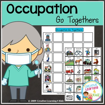 Occupation Go Together Board