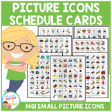 Visual Schedule Cards Autism PECS