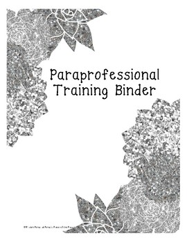 Autism Paraprofessional Training Manual