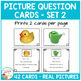 Picture Question Inference Cards Set 2