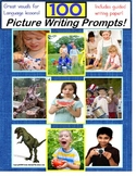 Autism and Special Education Picture Writing Prompt Cards